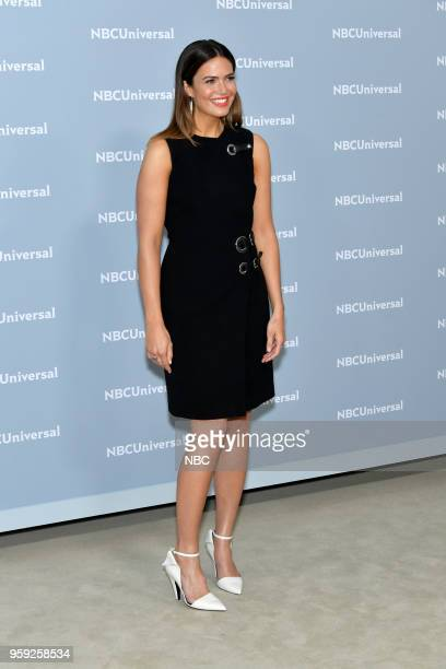 NBCUniversal Upfront in New York City on Monday May 14 2018 Red Carpet Pictured Mandy Moore 'This Is Us' on NBC