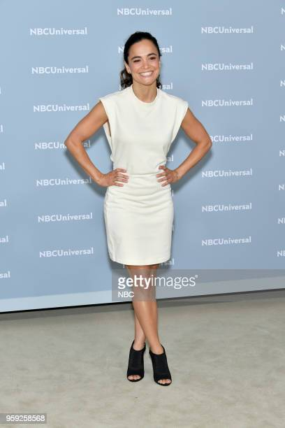 NBCUniversal Upfront in New York City on Monday May 14 2018 Red Carpet Pictured Alice Braga 'Queen of the South' on USA Network