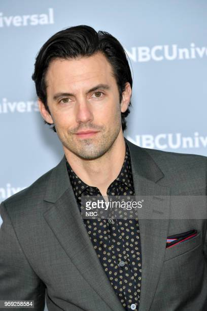 NBCUniversal Upfront in New York City on Monday May 14 2018 Red Carpet Pictured Milo Ventimiglia This Is Us on NBC