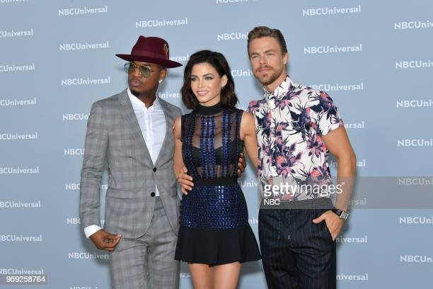 NBCUniversal Upfront in New York City on Monday May 14 2018 Red Carpet Pictured NEYO Jenna Dewan Derek Hough 'World of Dance' on NBC