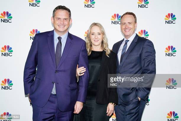 NBCUniversal Upfront in New York City on Monday May 15 2017 Executive Portraits Pictured Paul Telegdy President Alternative Reality Group NBC...