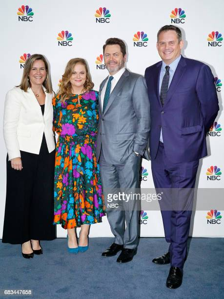 NBCUniversal Upfront in New York City on Monday May 15 2017 Executive Portraits Pictured Meredith Ahr President Universal Television Alternative...