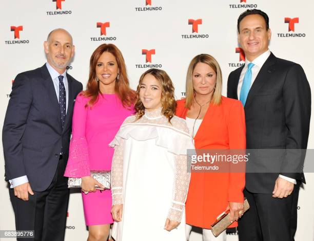 NBCUniversal Upfront in New York City on Monday May 15 2017 Executive Portraits Pictured Luis Siberwasser President Telemundo Network and Universo...