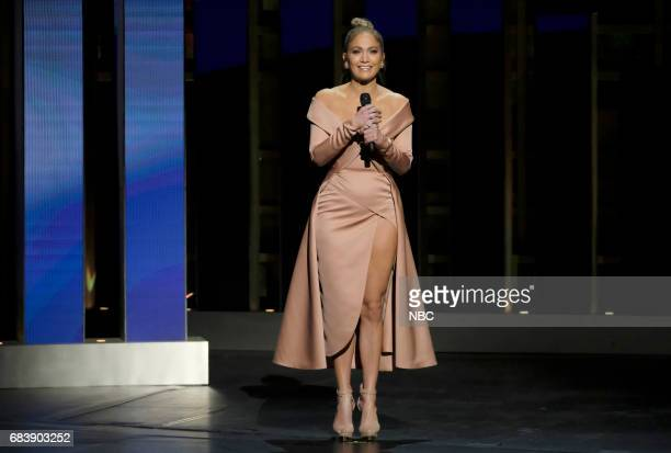 NBCUniversal Upfront in New York City on Monday May 15 2017 Pictured Jennifer Lopez World of Dance on NBC