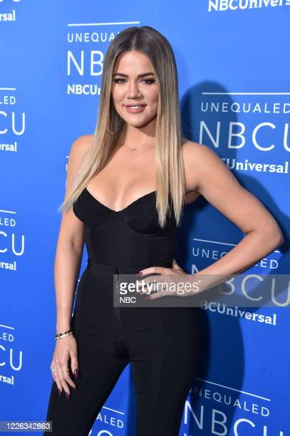 """NBCUniversal Upfront in New York City on Monday, May 15, 2017 -- Red Carpet -- Pictured: Khloe Kardashian, """"Keeping Up with the Kardashians"""" on E!..."""