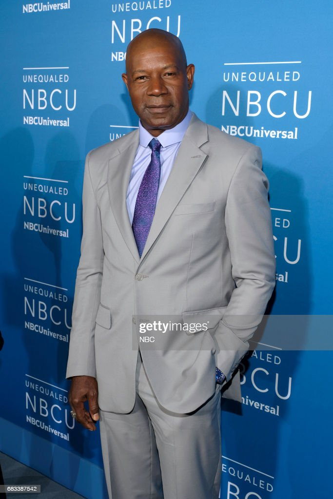 NBCUniversal Upfront in New York City on Monday, May 15, 2017 -- Red Carpet -- Pictured: Dennis Haysbert, 'Reverie' on NBC --