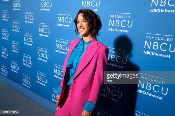 NBCUniversal Upfront in New York City on Monday May 15 2017 Red Carpet Pictured Jennifer Beals 'Taken' on NBC