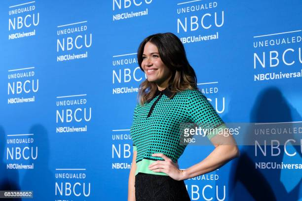 NBCUniversal Upfront in New York City on Monday May 15 2017 Red Carpet Pictured Mandy Moore 'This Is Us' on NBC