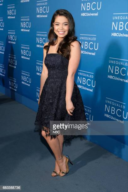 NBCUniversal Upfront in New York City on Monday May 15 2017 Red Carpet Pictured Auli'i Carvalho 'Rise' on NBC