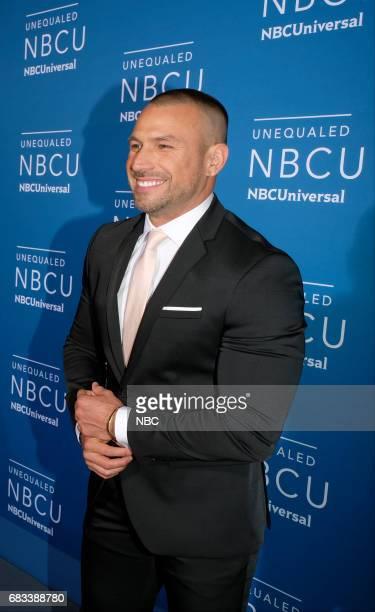 NBCUniversal Upfront in New York City on Monday May 15 2017 Red Carpet Pictured Rafael Amaya 'El Señor del Los Cielos' on Telemundo