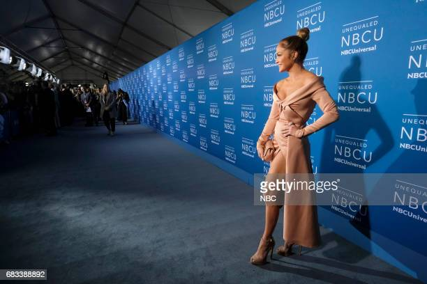 NBCUniversal Upfront in New York City on Monday May 15 2017 Red Carpet Pictured Jennifer Lopez 'World of Dance' on NBC