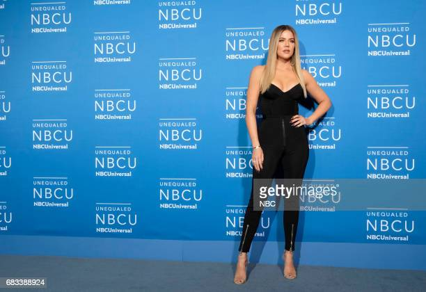 NBCUniversal Upfront in New York City on Monday May 15 2017 Red Carpet Pictured Khloé Kardashian 'Keeping Up with the Kardashians' on E Entertainment