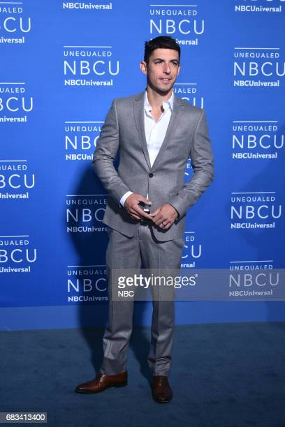 NBCUniversal Upfront in New York City on Monday May 15 2017 Red Carpet Pictured Alberto Guerra 'Guerra de Idolos' on Telemundo