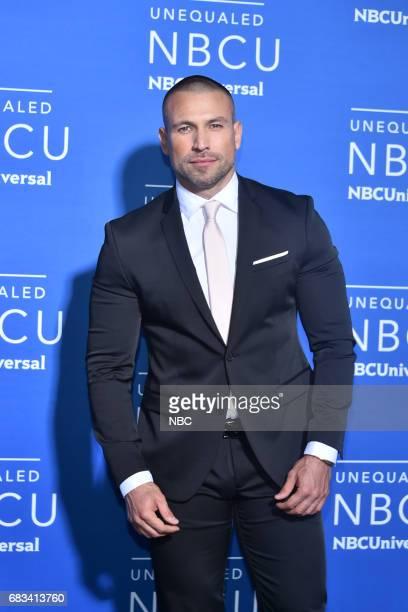 NBCUniversal Upfront in New York City on Monday May 15 2017 Red Carpet Pictured Rafael Amaya 'El Señor de Los Cielos' on Telemundo