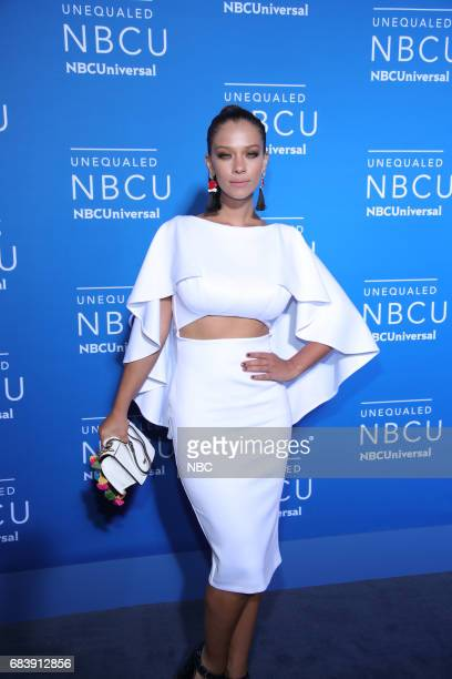 NBCUniversal Upfront in New York City on Monday May 15 2017 Red Carpet Pictured Carolina Miranda 'Señora Acero' on Telemundo