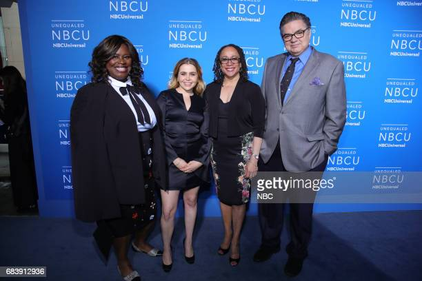 NBCUniversal Upfront in New York City on Monday May 15 2017 Red Carpet Pictured Retta Mae Whitman 'Good Girls' on NBC S Epatha Merkerson Oliver Platt...
