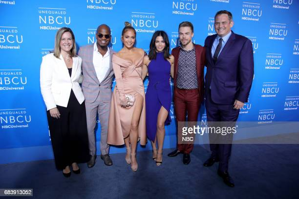 NBCUniversal Upfront in New York City on Monday May 15 2017 Red Carpet Pictured Meredith Ahr President Universal Television Alternative Studio NEYO...