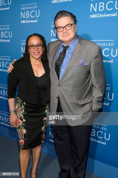 NBCUniversal Upfront in New York City on Monday May 15 2017 Red Carpet Pictured S Epatha Merkerson Oliver Platt 'Chicago Med' on NBC