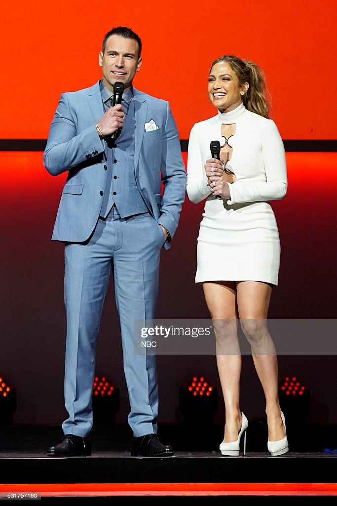UPFRONT -- '2016 NBCUniversal Upfront in New York City on Monday, May 16, 2016' -- Pictured: (l-r) Rafael Amaya, 'El Señor de los Cielos' on Telemundo; Jennifer Lopez, 'Shades of Blue' on NBC --