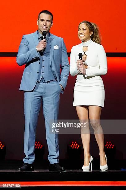 UPFRONT '2016 NBCUniversal Upfront in New York City on Monday May 16 2016' Pictured Rafael Amaya 'El Señor de los Cielos' on Telemundo Jennifer Lopez...