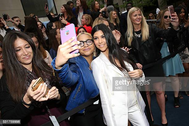 UPFRONT 2016 NBCUniversal Upfront in New York City on Monday May 16 2016 Pictured Kourtney Kardashian Keeping Up with the Kardashians on E...