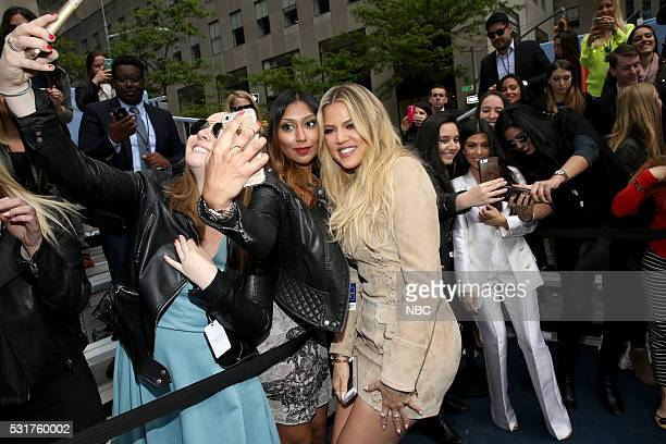 UPFRONT 2016 NBCUniversal Upfront in New York City on Monday May 16 2016 Pictured Khloe Kardashian Keeping Up with the Kardashians on E Entertainment