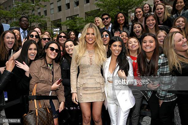 UPFRONT 2016 NBCUniversal Upfront in New York City on Monday May 16 2016 Pictured Khloe Kardashian Kourtney Kardashian Keeping Up with the...