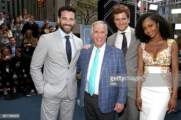 UPFRONT 2016 NBCUniversal Upfront in New York City on Monday May 16 2016 Pictured Colin Donnell Chicago Med on NBC Henry Winkler Better Late Than...