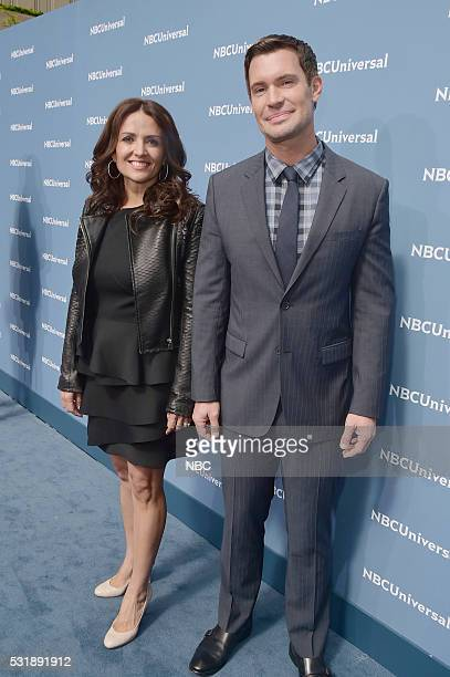 UPFRONT 2016 NBCUniversal Upfront in New York City on Monday May 16 2016 Pictured Jenni Pulos Jeff Lewis Flipping Out on Bravo
