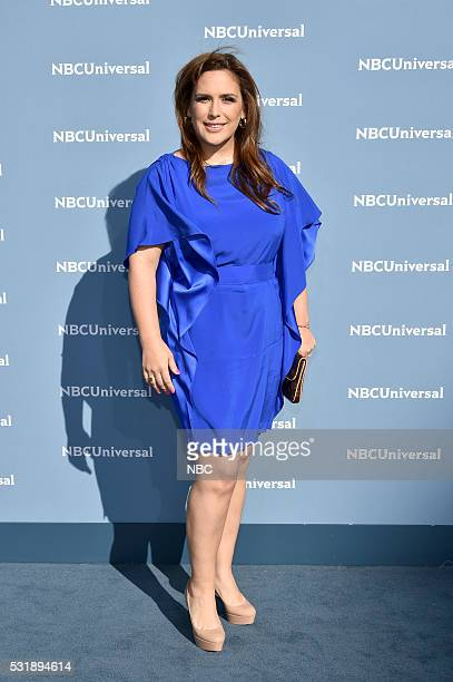 UPFRONT 2016 NBCUniversal Upfront in New York City on Monday May 16 2016 Pictured Angelica Vale La Fan on Telemundo