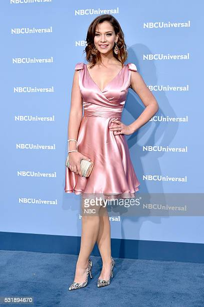 UPFRONT 2016 NBCUniversal Upfront in New York City on Monday May 16 2016 Pictured Carolina Miranda Senora Acero on Telemundo