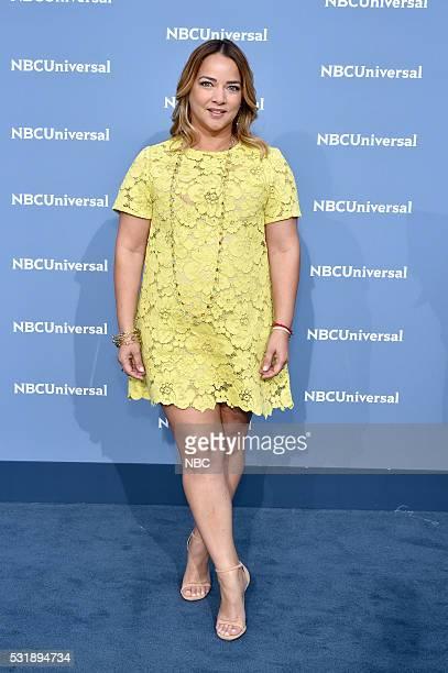 UPFRONT 2016 NBCUniversal Upfront in New York City on Monday May 16 2016 Pictured Adamari Lopez Un Nuevo Dia on Telemundo