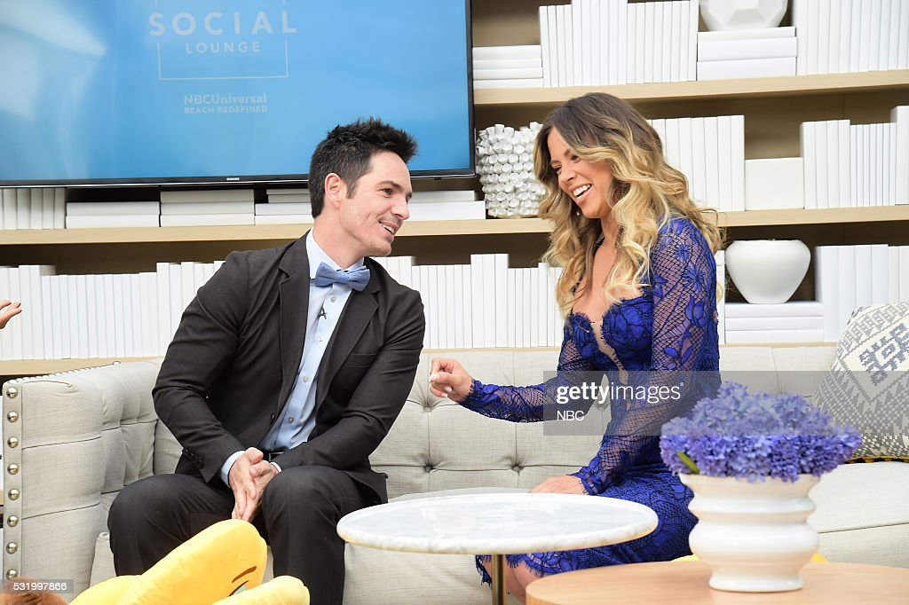 """NBC's """"NBCUniversal Upfront"""" - Social Lounge"""
