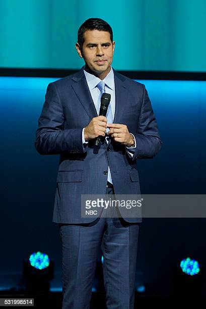 UPFRONT 2016 NBCUniversal Upfront in New York City on Monday May 16 2016 Pictured Cesar Conde Chairman NBCUniversal International Group and...