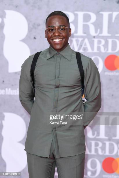 Ncuti Gatwa attends The BRIT Awards 2019 held at The O2 Arena on February 20 2019 in London England