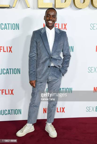 Ncuti Gatwa attends the Sex Education Season 2 World Premiere at Genesis Cinema on January 08 2020 in London England