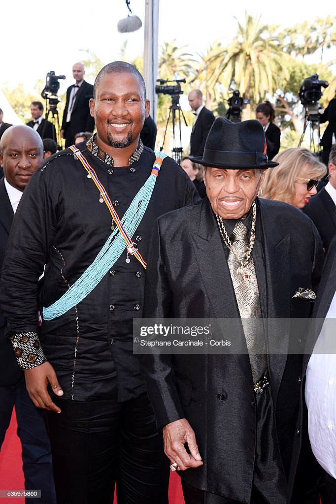 Ndaba Mandela and Joe Jackson at the 'Clouds Of Sils Maria' Premiere at the 67th Annual Cannes Film Festival