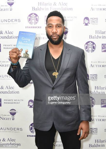 Ndaba Mandela attends Authors Night At East Hampton Library on August 11, 2018 in East Hampton, New York.