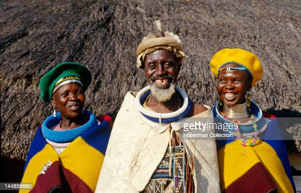 Ndebele in traditional dress Mpumalanga