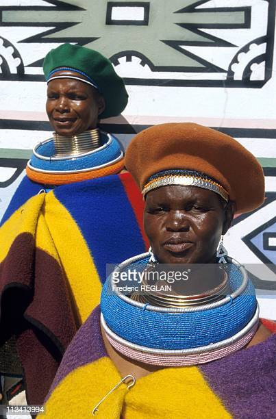Ndebele Villages On May 1St 1998 In South Africa