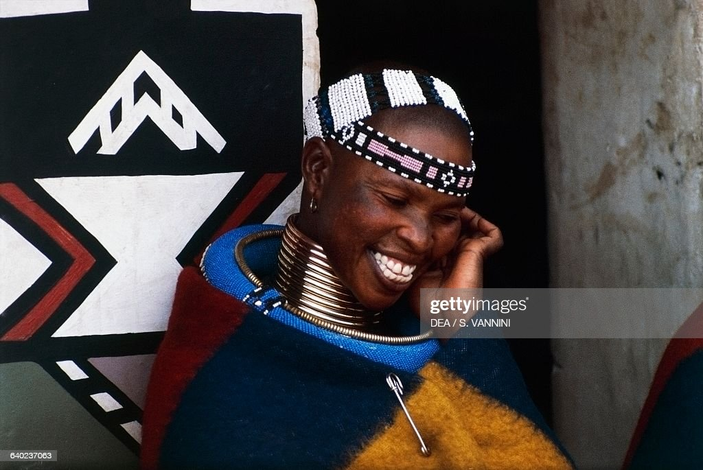 Ndebele women, Transvaal, South Africa : News Photo