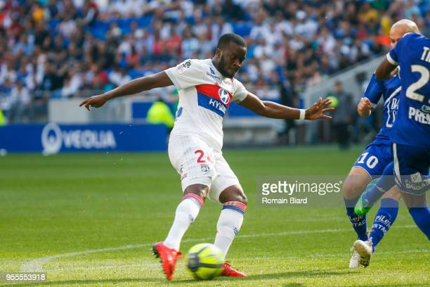 Ndombele Alvaro Tanguy of Lyon during the Ligue 1 match between Olympique Lyonnais and Troyes AC at Parc Olympique on May 6 2018 in Lyon