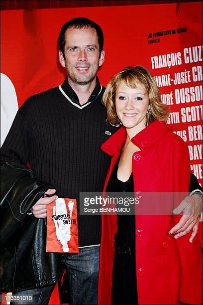 'Ne Le Dis A Personne' Premiere On October 30Th 2006 In Paris France Here Christian Vadim And Julia Livage