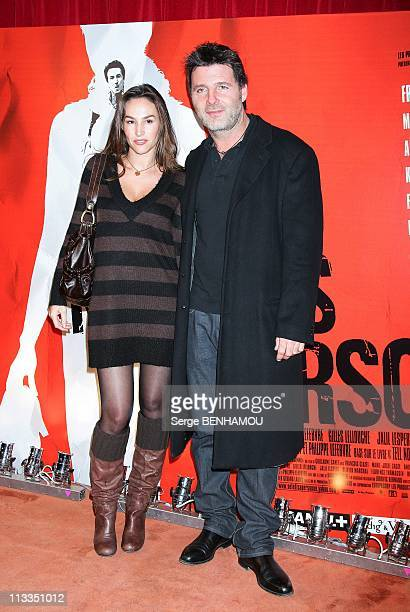 'Ne Le Dis A Personne' Premiere On October 30Th 2006 In Paris France Here Vanessa Demouy And Her Husband Philippe Lellouche