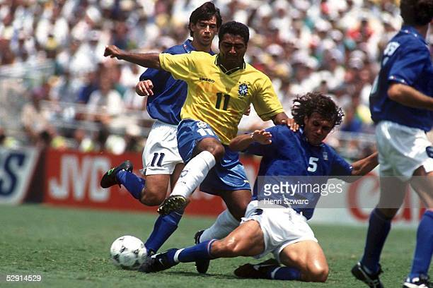 2 nE Los Angeles vlks Demetrio ALBERTINI/ITA ROMARIO/BRA Guiseppe MALDINI/ITA