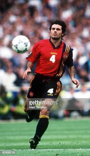 England Wembley VIERTELFINALE SPANIEN ENGLAND 24 nE Rafael ALKORTA/ESP EINZELAKTION