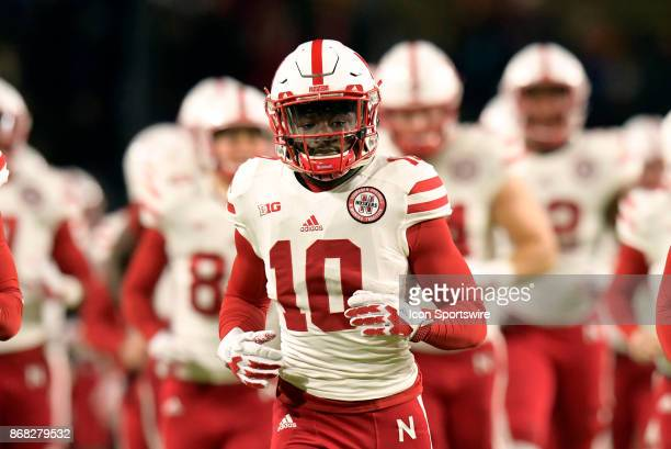 ne10 during the Big Ten conference game between the Purdue Boilermakers and the Nebraska Cornhuskers on October 28 at RossAde Stadium in West...