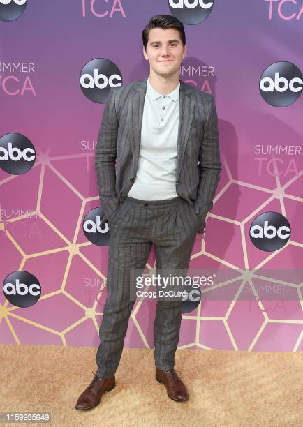 Neal arrives at ABC's TCA Summer Press Tour Carpet Event on August 5, 2019 in West Hollywood, California.