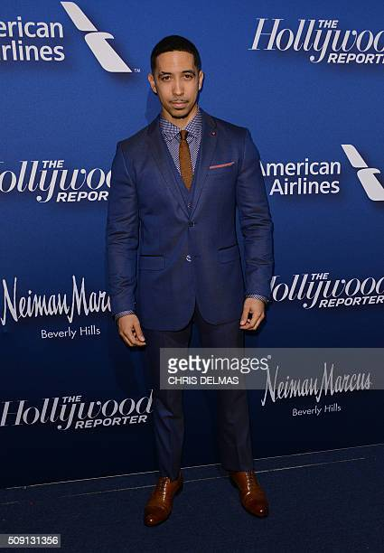 Neal Brown Jr arrives for the Hollywood Reporter's 4th Annual Academy Awards Nominees Night in Beverly Hills California February 8 2016 / AFP / CHRIS...