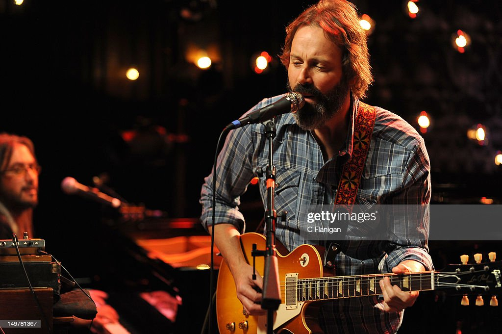 Neal Casal of the Chris Robinson Brotherhood performs during the 'Move Me Brightly' 70th Birthday Tribute for Jerry Garcia at TRI Studios on August 3, 2012 in San Rafael, California.